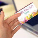Business Card for Maria Ragazzo